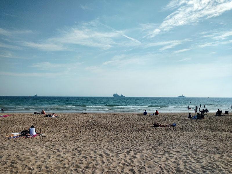 warships-bournemouth-beach