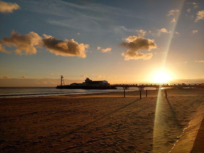 Bournemouth Pier in November
